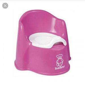 Other - Babybjorn potty chair pink